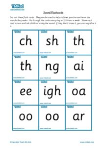 Teacher resources, free home school worksheets, Key stages 1 & 2 Worksheets for kids - Phonics flashcards