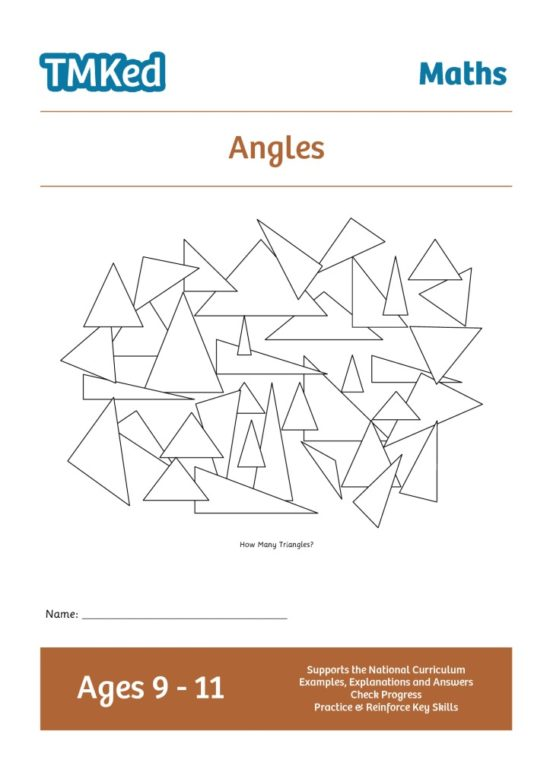 Worksheets for kids - angles 9-11