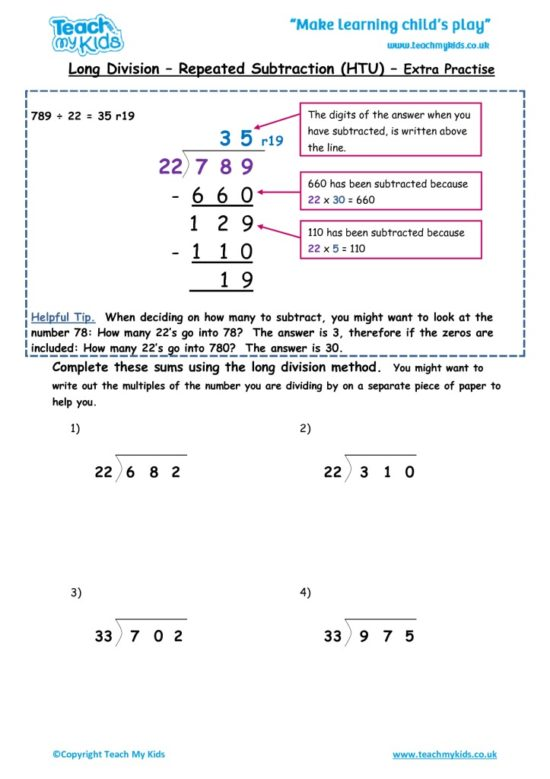 Worksheets for kids - long-division-repeated-subtraction-htu-extra