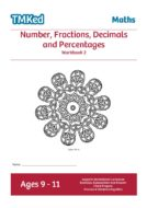 Worksheets for kids - num, frac, dec, perc bk2 9-11