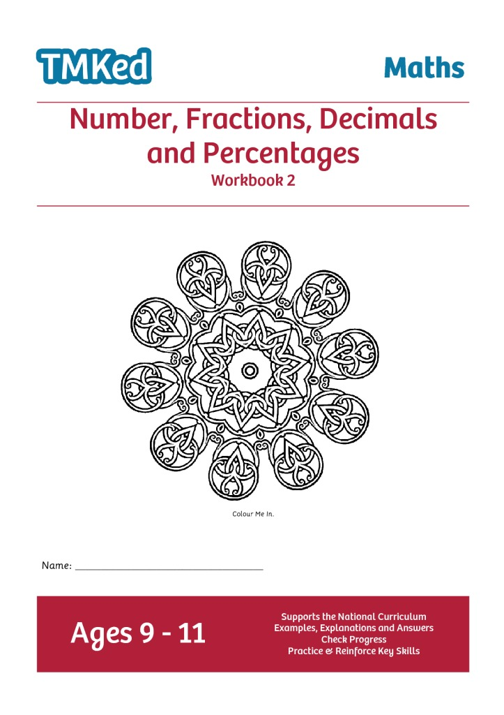Maths Activities, Decimal Numbers, Fractions, Percentages - TMKed