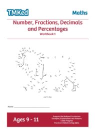 Worksheets for kids - num,frac, dec, perc bk1 9-11