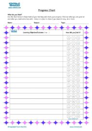 Teacher resources, free home school worksheets, Key stages 1 & 2 Worksheets for kids - progress chart