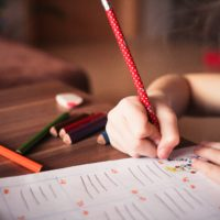 Worksheets to improve child writing