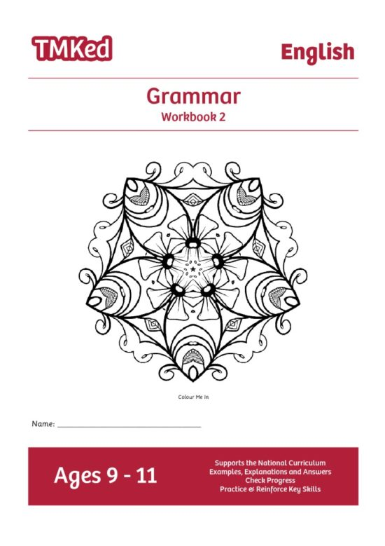 grammar workbook 2, 9-11 years old