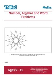Numeracy workbook - number,algebra,word problems, KS2, 9-11 years