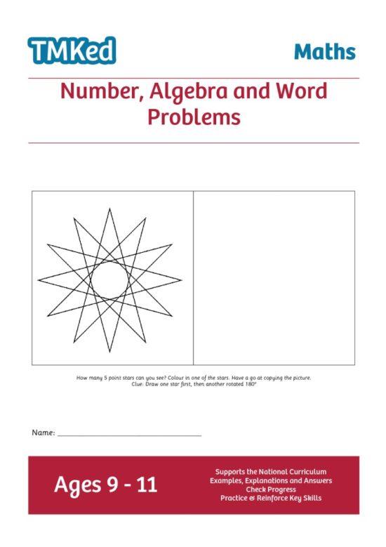 Numeracy workbook - number,algebra,word problems, KS2, 9-11 years