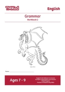 Key Stage 2 Literacy Worksheets for kids - SPAG worksheets, grammar printable workbook 2, 7-9 years