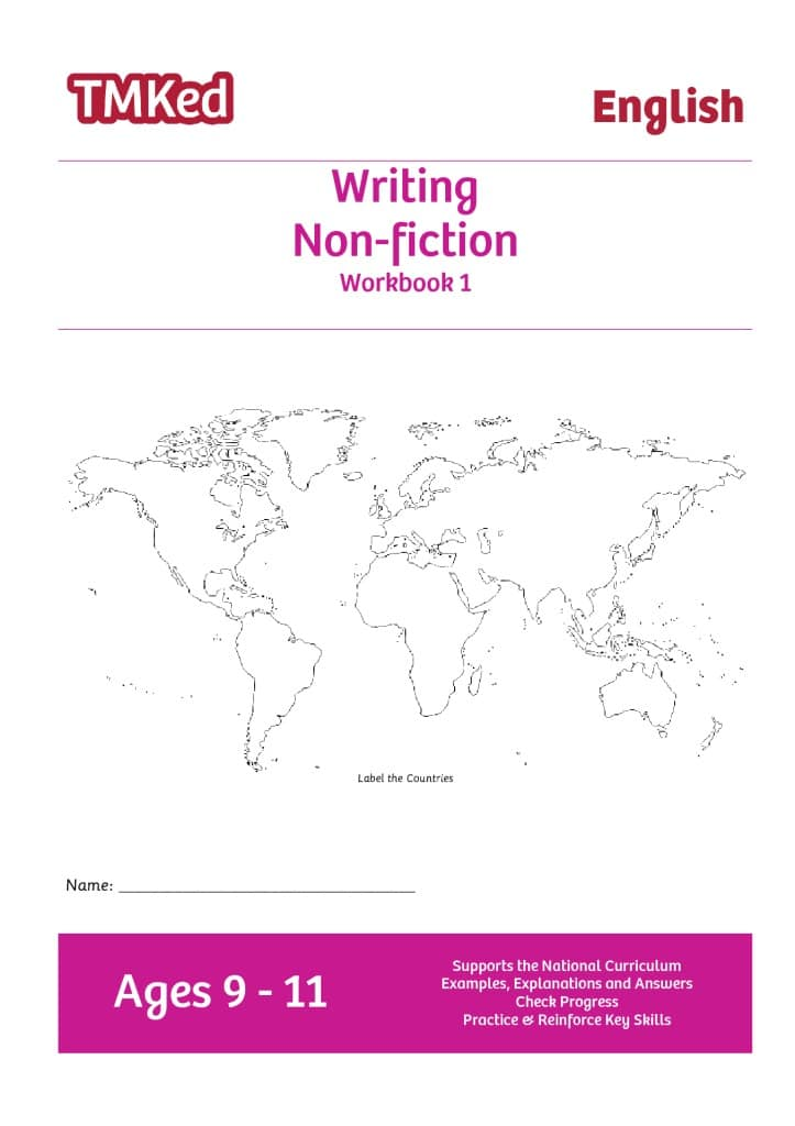 Writing Non-fiction Workbook 1 (9-11 Years) - TMK Education