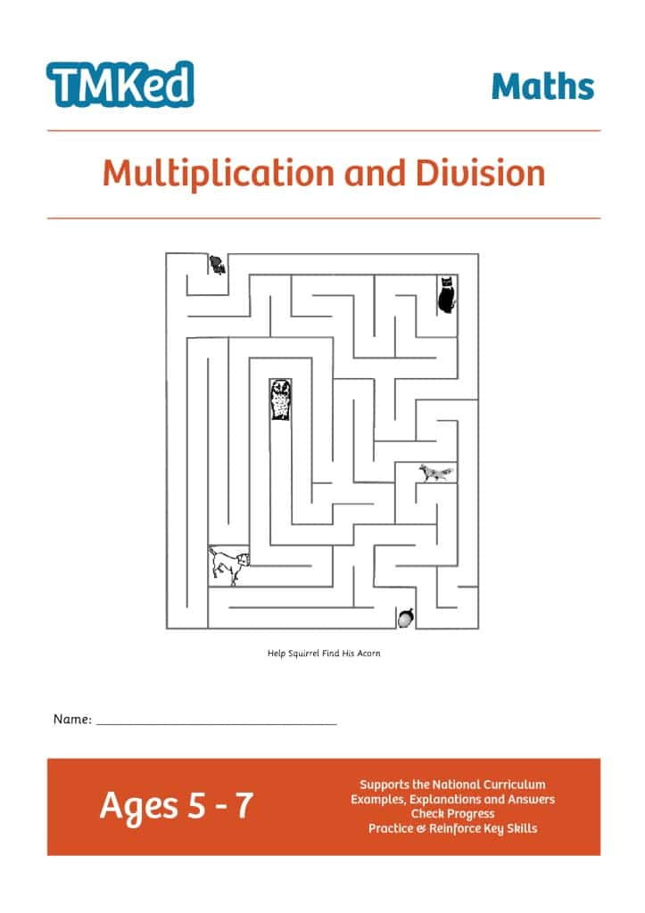 Multiplication & Division (5-7 Years) - TMK Education