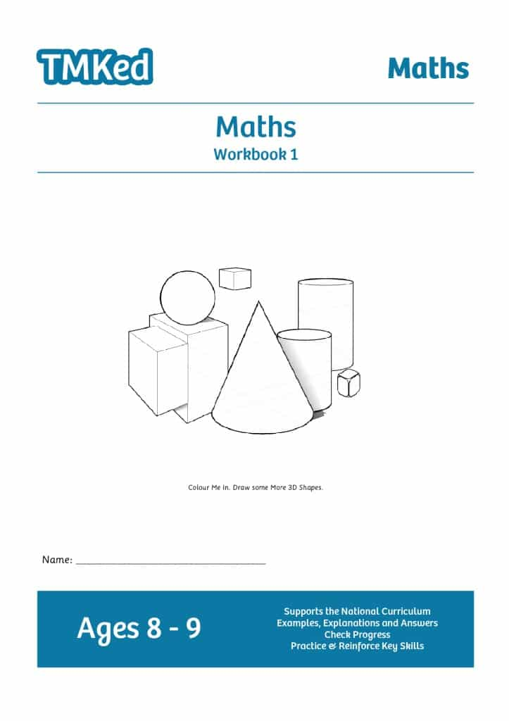 Maths Workbook 1 (8-9 Years) - TMK Education