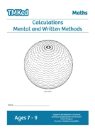 KS2 Worksheets for kids - number and calculations, mental and written methods in maths, 7-9 years