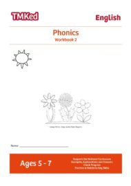 Key stage 1 phonics worksheets for kids - Phonics workbook 2, 5-7 years