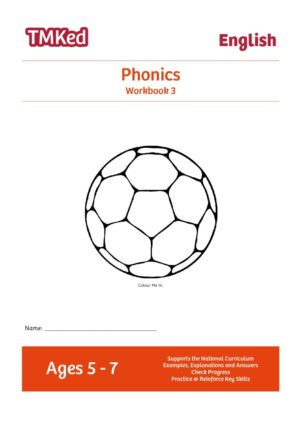 Key stage 1 phonics worksheets for kids - Phonics workbook 3, 5-7 years