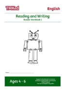EYFS,KS1 literacy worksheets for kids - reading and writing worksheets, booster workbook 1, 4-6 years