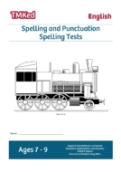 ks2 literacy worksheets for kids - spelling tests workbook, SPAG 7-9 years