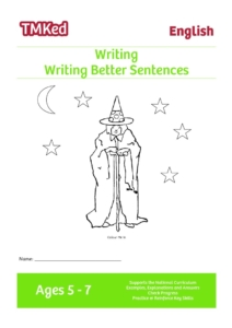 key stage 1 literacy, Worksheets for kids - writing better sentences printable workbook, 5-7 years