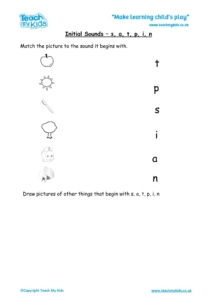 Worksheets for kids - satpin