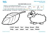 Worksheets for kids - long-vowel-sounds-ea-ee