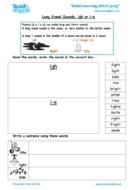 Worksheets for kids - long-vowel-sounds-igh-i-e