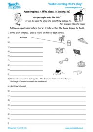 Worksheets for kids - apostrophes_-_who_does_it_belong_to