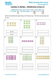 Worksheets for kids - learning-to-multiply-x-arrays1