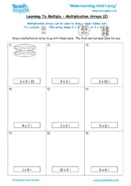 Worksheets for kids - learning-to-multiply-x-arrays2