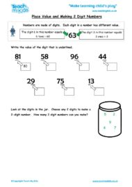 Worksheets for kids - place-value-and-making-2-digit-numbers
