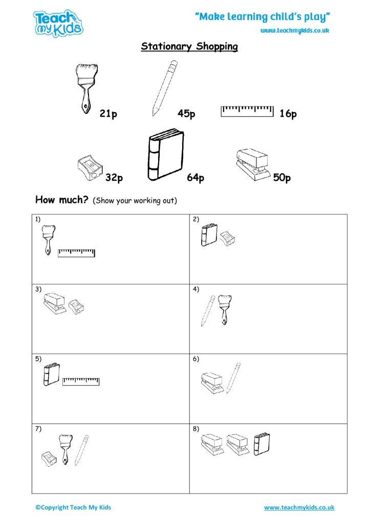 Addition & Subtraction Workbook 2 (5-7 Years) - TMK Education