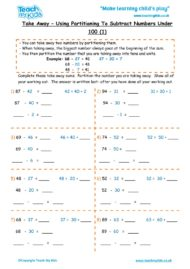 Worksheets for kids - take-away-partition-nos-under-100-1