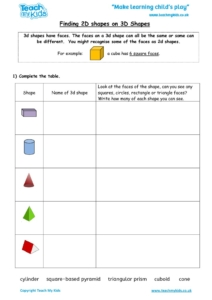 Worksheets for kids - finding_2d_shapes_on_3d_shapes