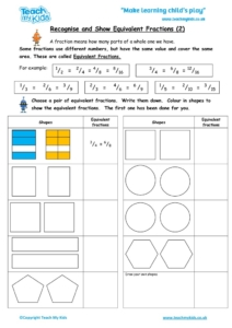 Worksheets for kids - recognise_and_show_equivalent_fractions_2