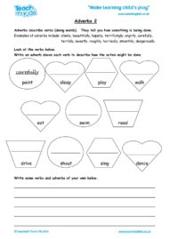 Worksheets for kids - adverbs-2