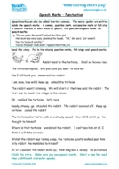 Worksheets for kids - speech-marks-punctuation