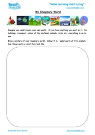 Worksheets for kids - my-imaginery-world