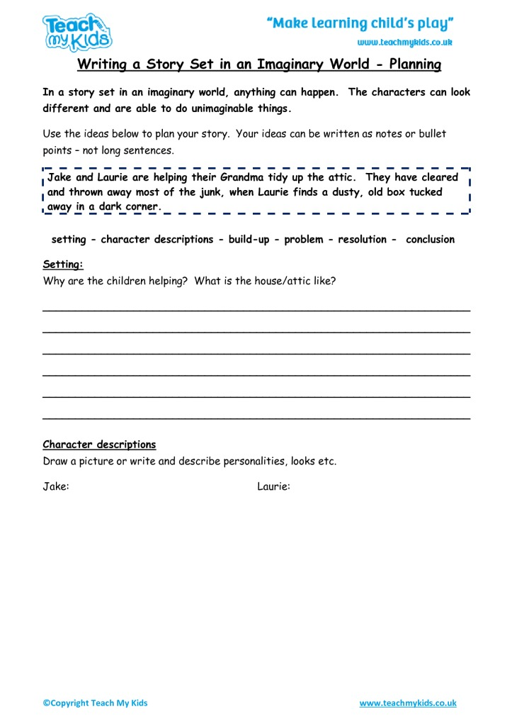 Writing A Story Set In An Imaginary World Planning Tmk Education. Writing A Story Set In An Imaginary World Planning. Worksheet. Imaginary Numbers Worksheet Pdf At Mspartners.co