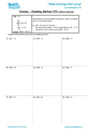 Worksheets for kids - division-chunking-method-htu-extra