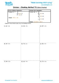Worksheets for kids - division-chunking_method_tu_extra