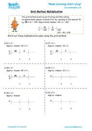 Worksheets for kids - grid_method_multiplication_2