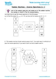 Worksheets for kids - number-machines-inverse-operations-times-divide