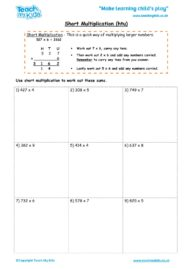Worksheets for kids - short_multiplication_-_htu