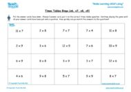 Worksheets for kids - times-tables-bingo-x6-x7-x8x9