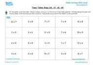 Worksheets for kids - times-tables-bingo-x6-x7-x8x9