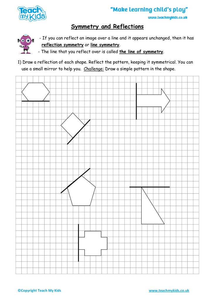 Reflection Worksheets Ks2 Pdf   Worksheetpedia