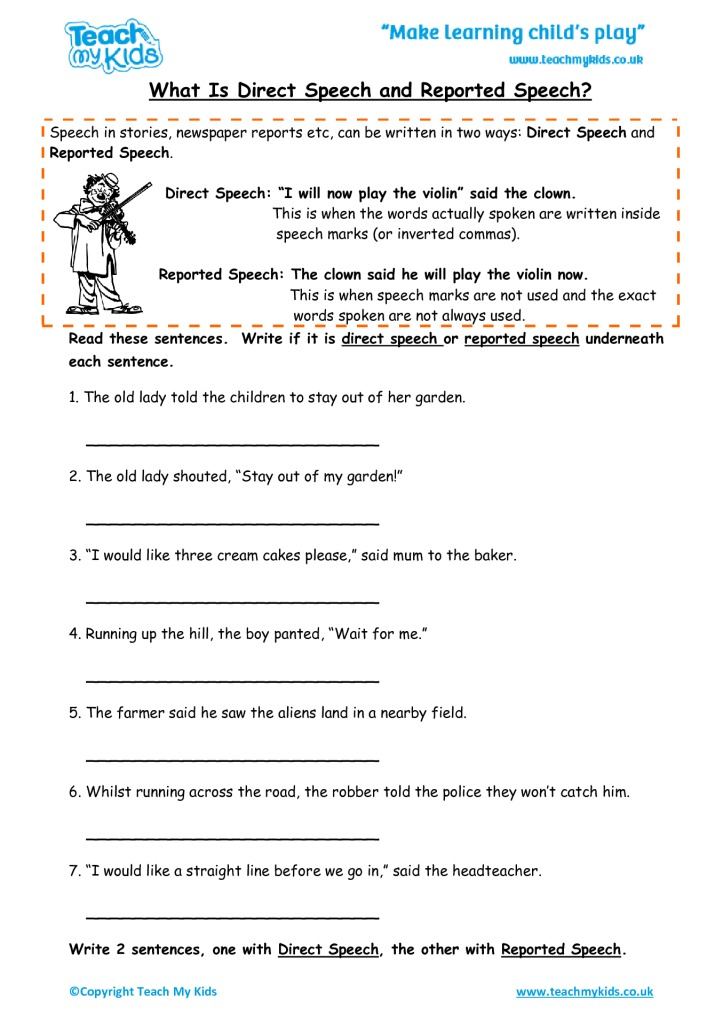 What is Direct and Reported Speech? - TMK Education