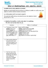 Worksheets for kids - what_is_it_modifying