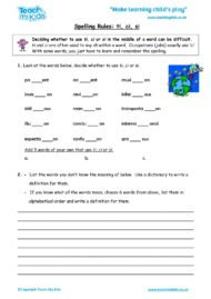 Worksheets for kids - spelling_rules_ti,_ci_or_si
