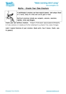 Worksheets for kids - myths-create-your-own-creature
