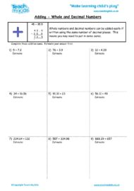 Worksheets for kids - whole-and-decimal-numbers-adding