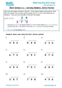 Worksheets for kids - short-division-tu-carrying-no-extra